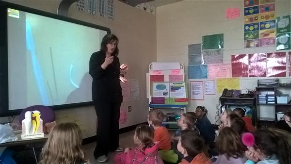 First Grade Students Learn About Dental Health from an Expert!