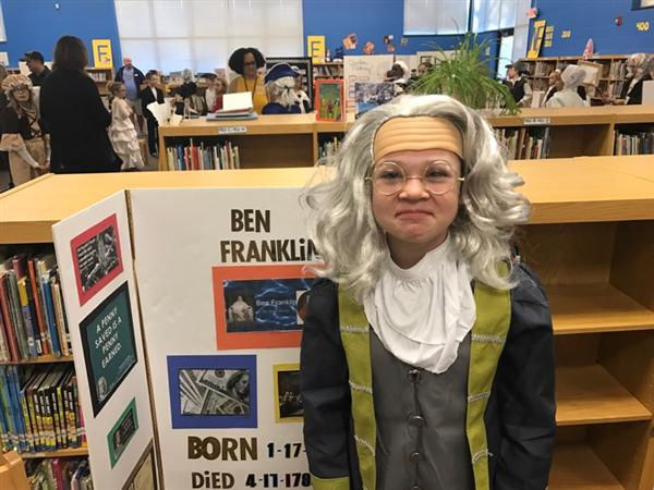 Fourth Grade Living Wax Museum