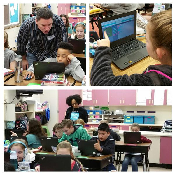 Wesley Chapel Students Participate in the National Hour of Code Initiative