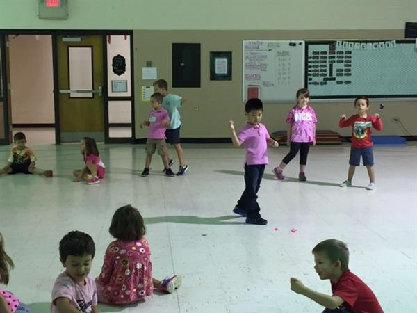 Kindergarten and First Grade:  Getting Global in P.E. Classes!