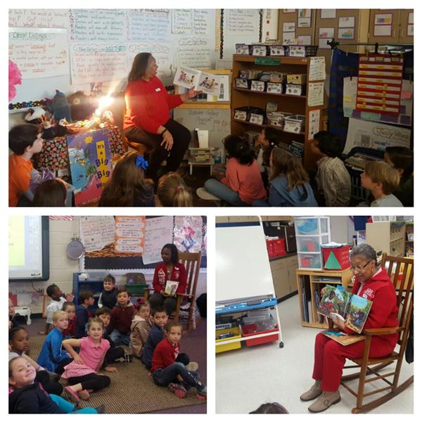 WCES celebrates Read Across America Day...with a Global Twist!