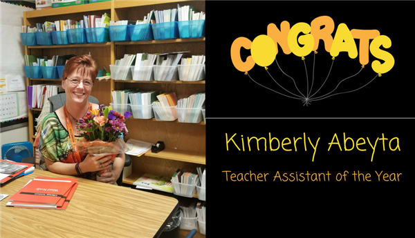 Teacher Assistant of the Year
