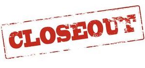 End of Year Closeout Procedures