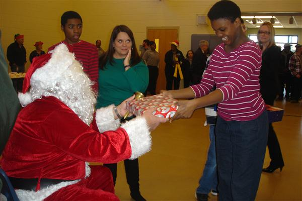 Holiday Magic at Wolfe School