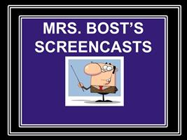 Screencasts1