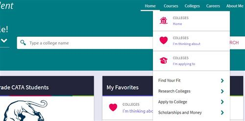 school counseling    naviance