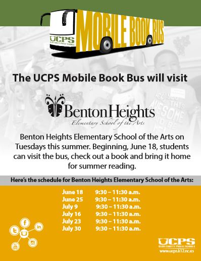 UCPS Mobile Book Bus