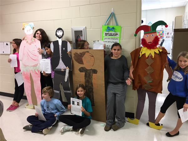 Literacy Projects at Prospect!