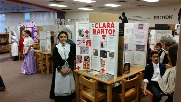 Rea View's Fourth Grade AIG Students Create Living Wax Museum