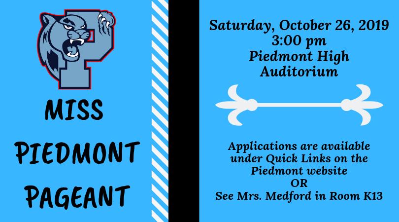 Piedmont High (hs) / Homepage