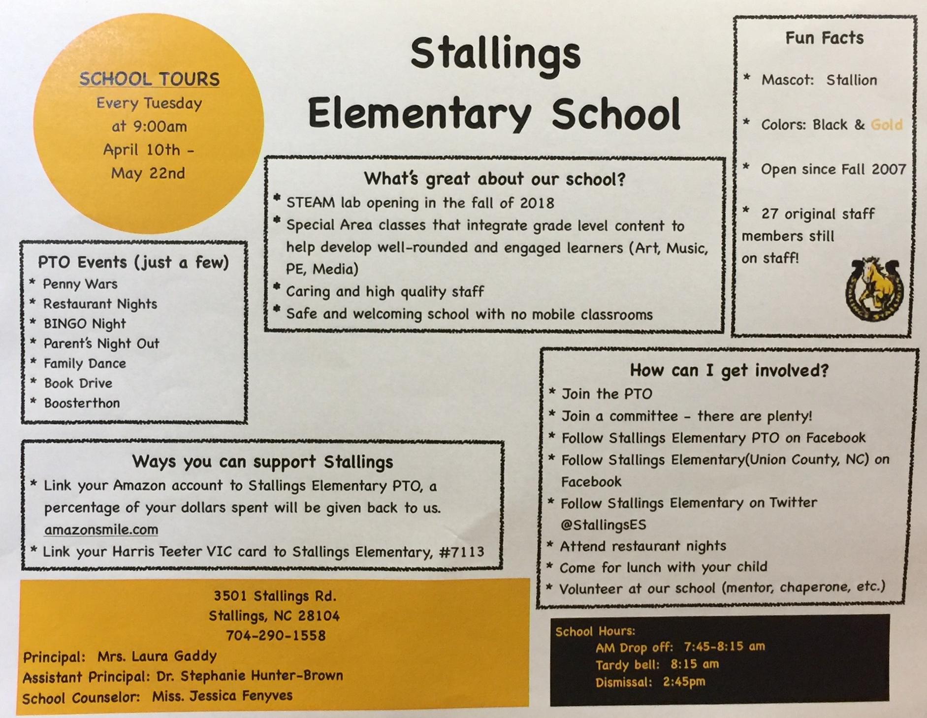 Stallings Elementary / Homepage