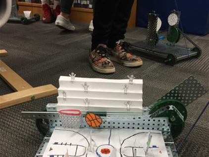 Robotics Pull Toy Competition