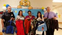 Wingate Police Department Donates Coats